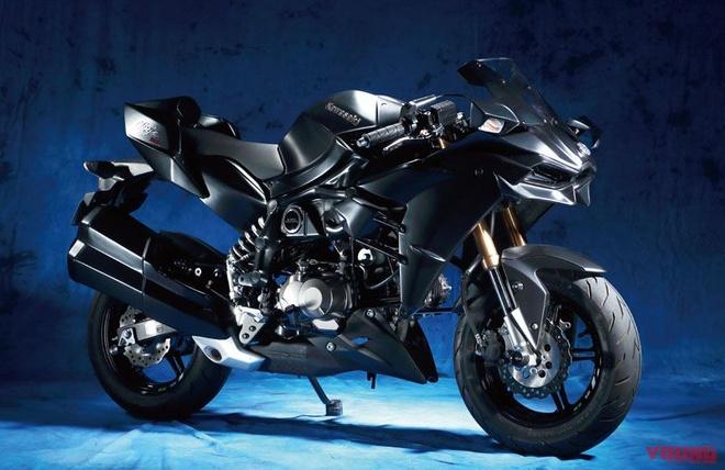 Kawasaki Z125 Pro lot xac thanh Ninja H2 anh 1