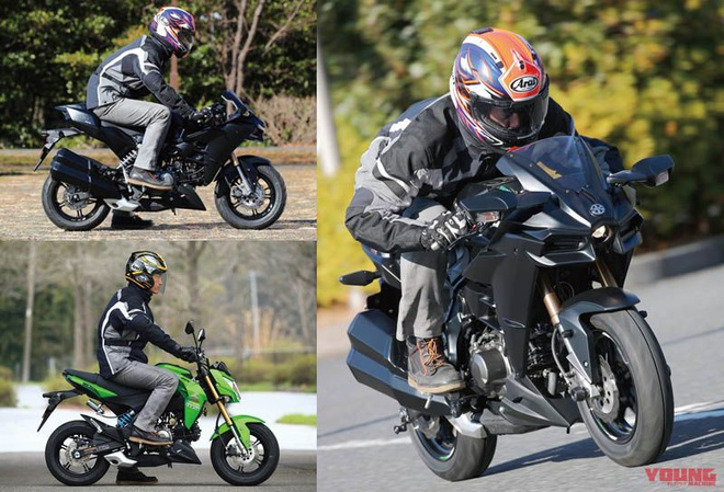 Kawasaki Z125 Pro lot xac thanh Ninja H2 anh 6