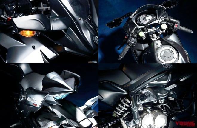Kawasaki Z125 Pro lot xac thanh Ninja H2 anh 3
