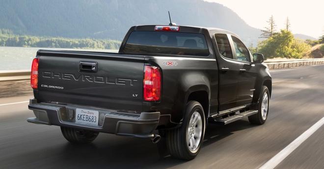 Chevrolet Colorado facelift 2021 lo dien anh 2