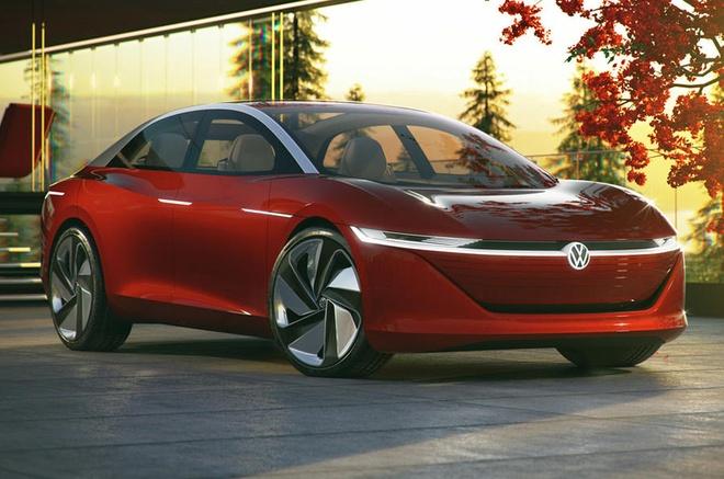 Volkswagen Passat 2023 trang bi dong co dien anh 2