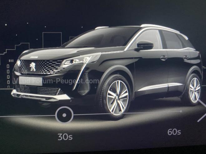 Peugeot 3008 facelift 2021 sap ra mat anh 2