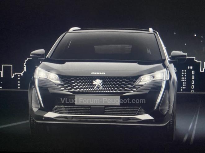 Peugeot 3008 facelift 2021 sap ra mat anh 1