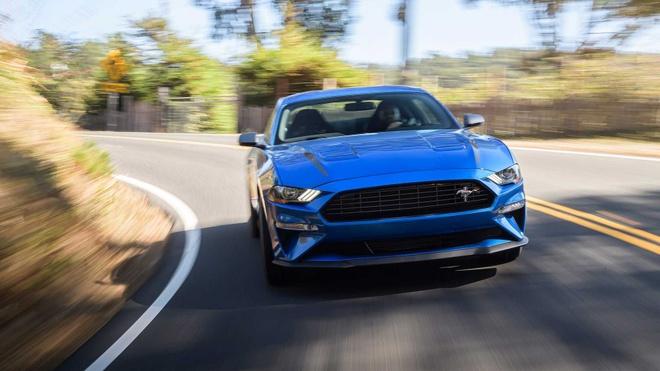 Ford Mustang 2020 bi trieu hoi anh 1