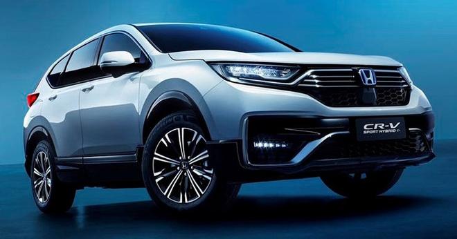 Honda CR-V PHEV duoc gioi thieu tai Trung Quoc anh 9