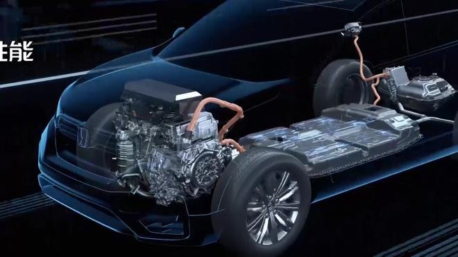 Honda CR-V PHEV duoc gioi thieu tai Trung Quoc anh 8