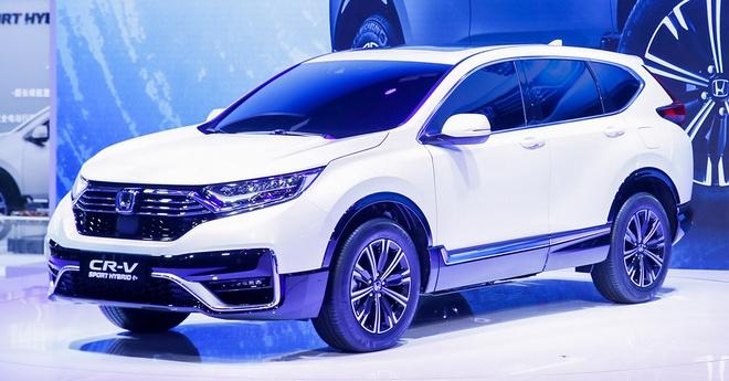 Honda CR-V PHEV duoc gioi thieu tai Trung Quoc anh 3