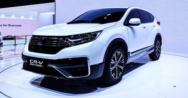 Honda CR-V PHEV duoc gioi thieu tai Trung Quoc anh 1