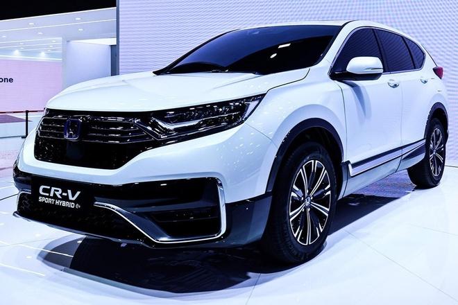 Honda CR-V PHEV 2020 duoc gioi thieu tai Trung Quoc hinh anh