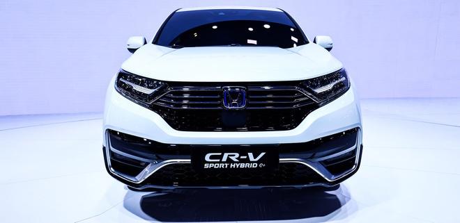 Honda CR-V PHEV duoc gioi thieu tai Trung Quoc anh 2