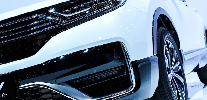 Honda CR-V PHEV duoc gioi thieu tai Trung Quoc anh 7