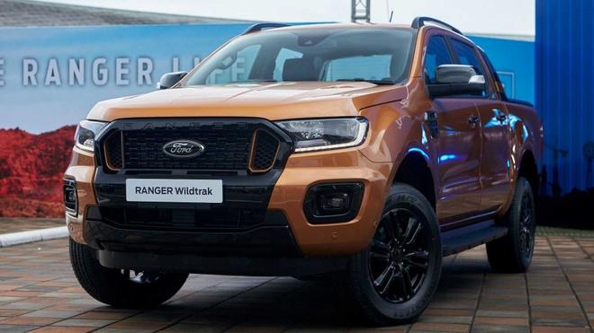 Ford Ranger 2021 được nâng cấp ngoại hình - Ôtô