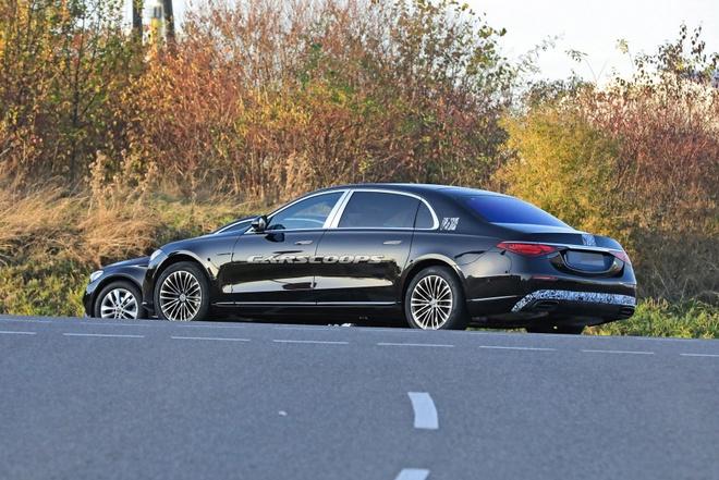 Mercedes-Maybach S-Class 2021 sap duoc ra mat anh 6