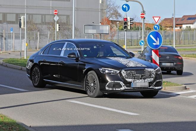 Mercedes-Maybach S-Class 2021 sap duoc ra mat anh 5