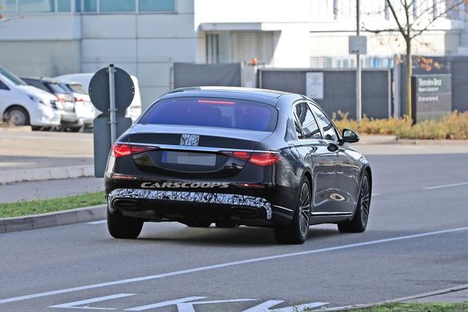 Mercedes-Maybach S-Class 2021 sap duoc ra mat anh 4