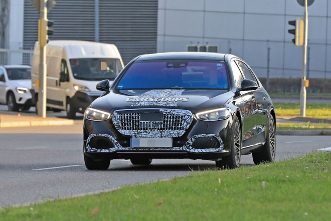 Mercedes-Maybach S-Class 2021 sap duoc ra mat anh 2