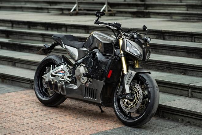 Honda CBR600RR duoc do theo phong cach streetfighter tai Ha Noi hinh anh