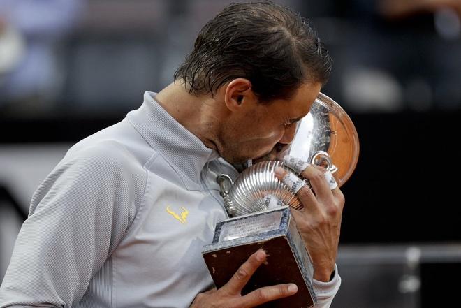 Highlights Nadal vs Zverev: Chung ket Rome Masters 2018 hinh anh