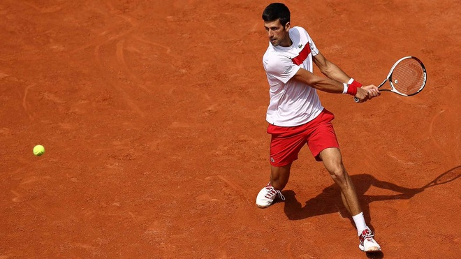 Highlights vong 1 Phap mo rong 2018 Novak Djokovic vs Dutra Silva hinh anh