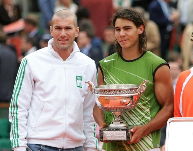 Rafael Nadal ngo ngang khi nghe tin Zidane tu chuc hinh anh 1