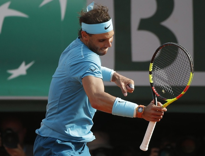 Danh bai Del Potro, Nadal lan thu 11 vao chung ket Phap mo rong hinh anh 1
