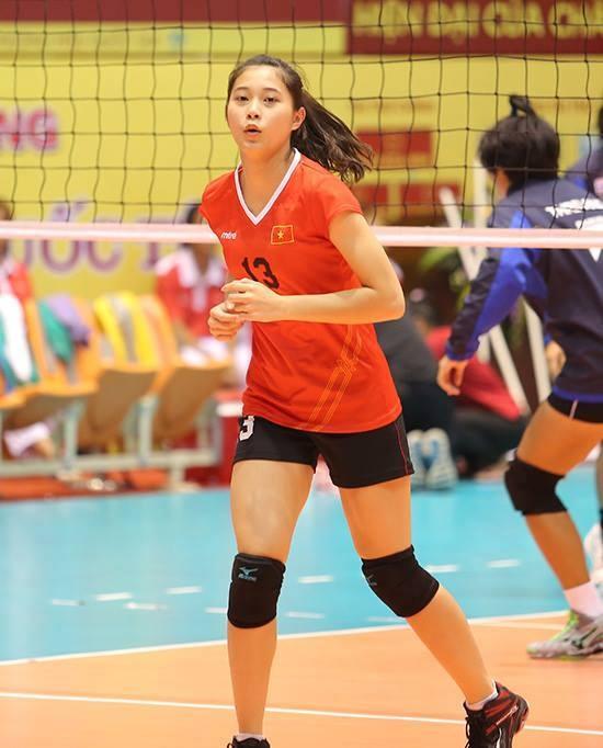Hot girl Thu Huyen, 'nhac truong' doi bong chuyen U19 Viet Nam hinh anh 4