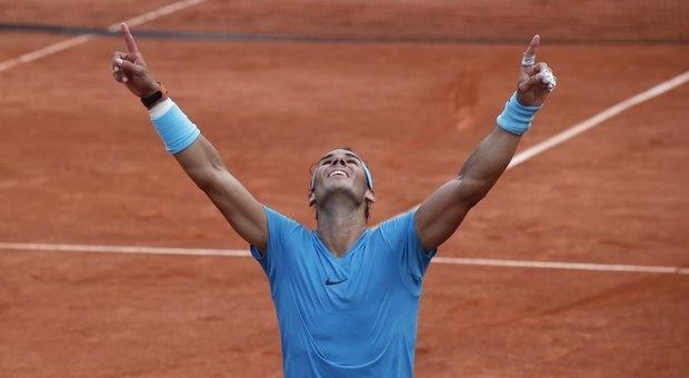 Rafael Nadal khoc khi lan thu 11 vo dich Phap mo rong hinh anh 2