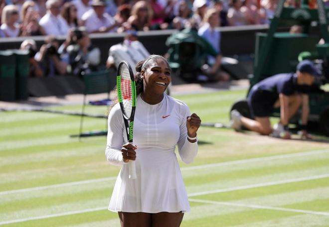 Thang de Goerges, Serena Williams lan thu 10 vao chung ket Wimbledon hinh anh