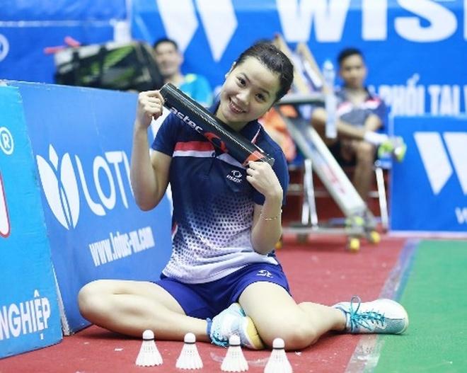 Thuy Linh, Vu Thi Trang khoi dau thuan loi tai giai cau long the gioi hinh anh
