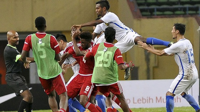 LDBD UAE gui loi xin loi sau vu au da voi Malaysia truoc them ASIAD hinh anh 1