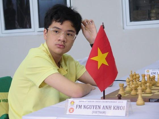 Anh Khoi vuot Quang Liem tai giai co vua quoc te Abu Dhabi hinh anh