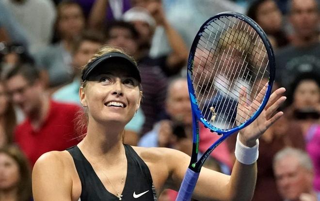 Sharapova thang thuyet phuc tai vong 3 My mo rong hinh anh