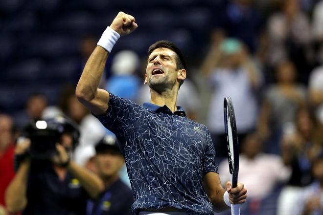 Thang thuyet phuc Nishikori, Djokovic vao chung ket My mo rong hinh anh