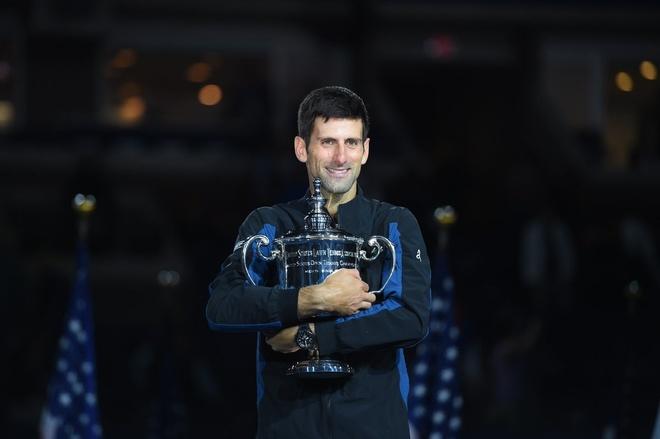 Highlights Novak Djokovic vs Del Potro: Ban linh len ngoi US Open hinh anh