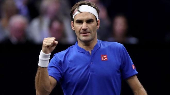 Federer gop cong giup doi chau Au chiem uu the tai Laver Cup hinh anh