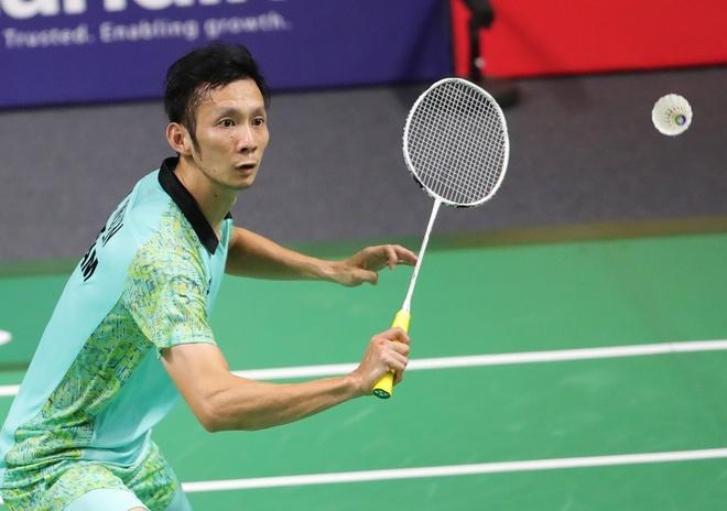 Vo chong Tien Minh thua nguoc tai giai cau long Dai Loan hinh anh