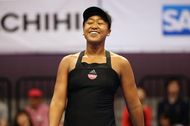 Naomi Osaka the hien phong do xuat sac tai Trung Quoc hinh anh