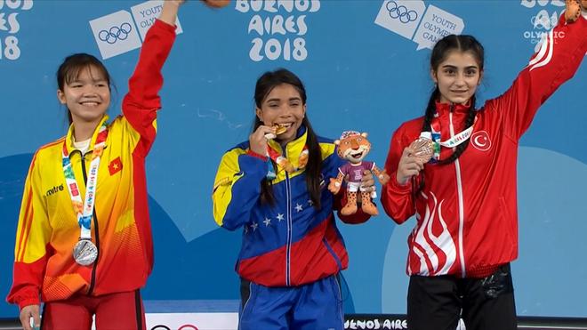 The thao Viet Nam co tam HCB dau tien tai Olympic tre 2018 hinh anh
