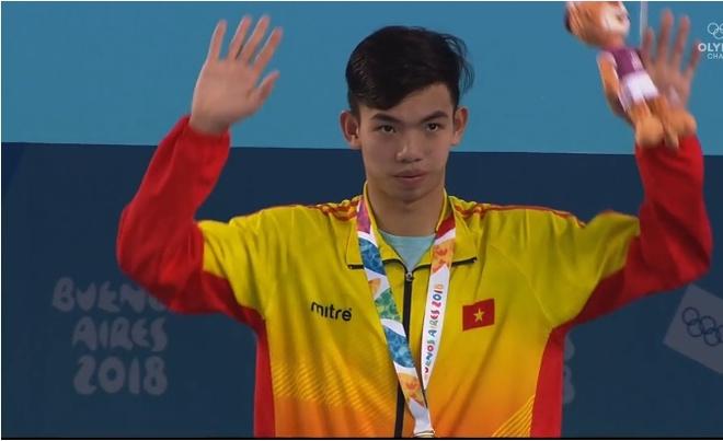 Nguyen Huy Hoang xuat sac gianh HCV Olympic tre hinh anh