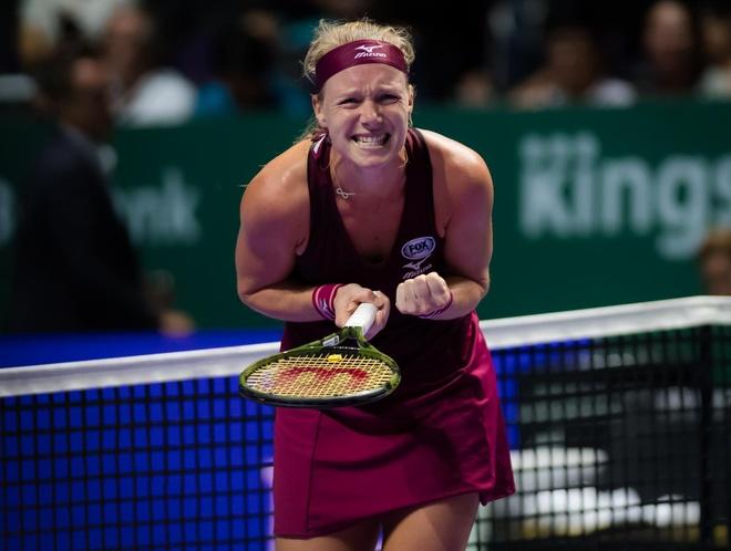 WTA Finals 2018: Ky tich cho cac tay vot lan dau du giai hinh anh