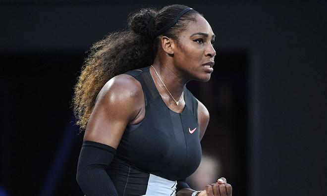 Con gai chu tich WWE muon Serena Williams len vo dai hinh anh