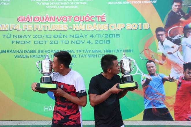 Hoàng Nam và Quốc Khánh lên ngôi tại giải Việt Nam F4 Futures