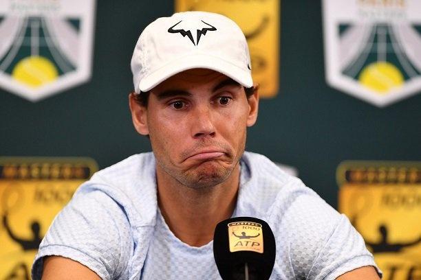Nadal rut lui tai Paris Masters, mat ngoi so mot vao tay Djokovic hinh anh 1