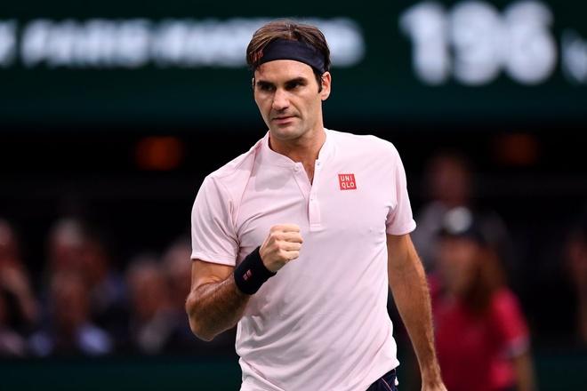 Ban ket trong mo giua Federer va Djokovic tai Paris Masters hinh anh 2