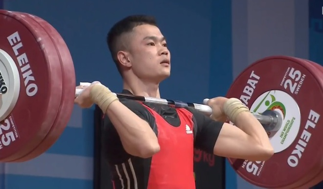 Thua ky luc gia Om Yun Chol, Lai Gia Thanh gianh HCB cu day hang 55 kg hinh anh