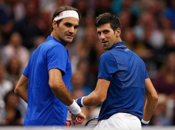 Federer dai chien Djokovic tai ban ket Paris Masters hinh anh