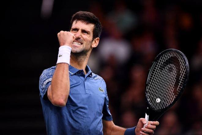 Thang kich tinh Federer, Djokovic vao chung ket Paris Masters hinh anh