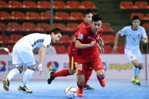 Highlights DT Viet Nam 9-0 DT Brunei: Giai futsal Dong Nam A 2018 hinh anh