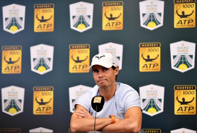 Nadal rut lui khoi ATP Finals vi chan thuong, Djokovic chac ngoi so 1 hinh anh 1