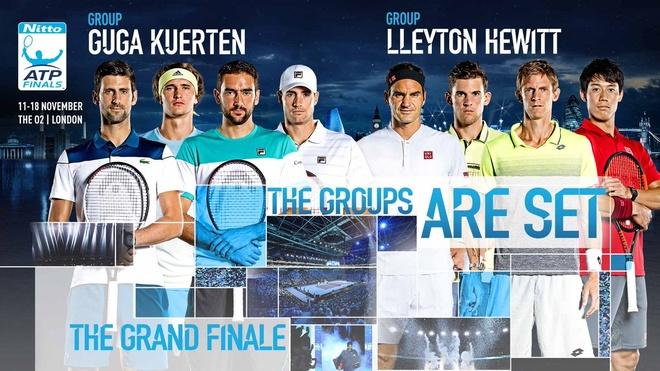 Chia bang ATP Finals: Djokovic huong toi san bang ky luc cua Federer hinh anh 1